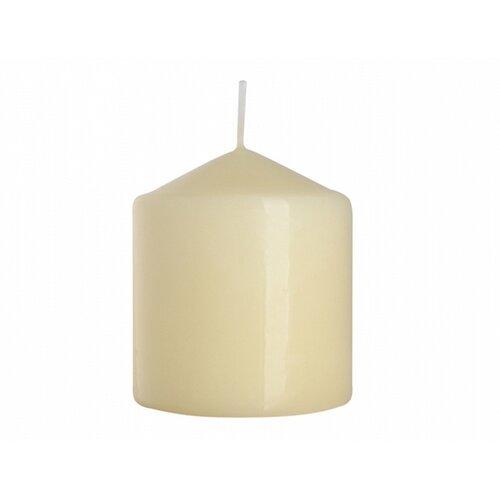 Dekorativní svíčka Classic Maxi béžová, 9 cm, 9 cm