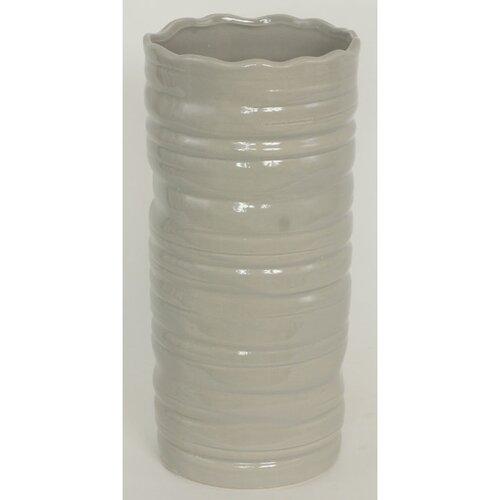 Keramická váza Belmez, šedá