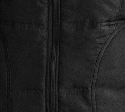 Prošívaná vesta (dámská), černá, M