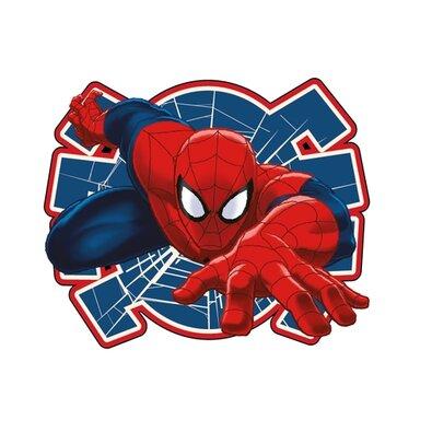 Tvarovaný polštářek Spiderman 02, 34 x 30 cm
