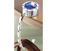 Wenko Držátko na kabelku s trezorem barva stříbrná