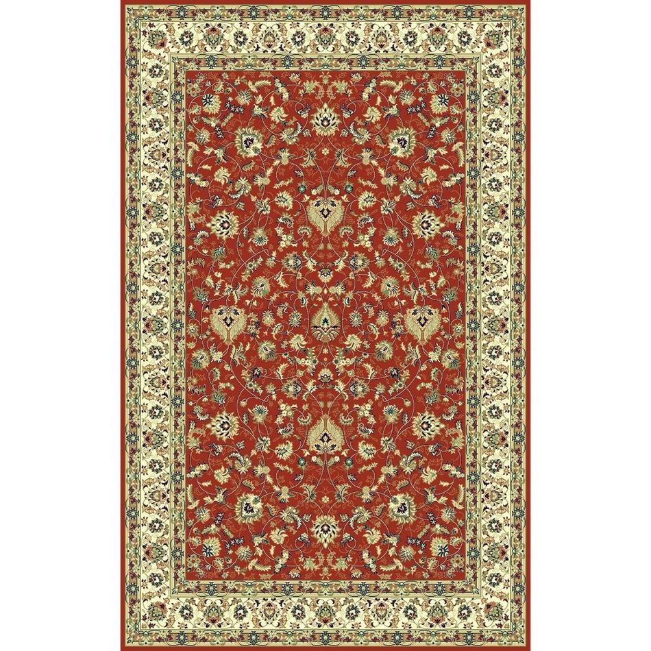 Habitat Kusový koberec Brilliant frame červená, 67 x 130 cm