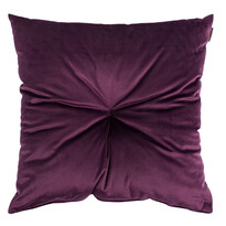 Domarex Lari Velvet párna, lila, 45 x 45 cm