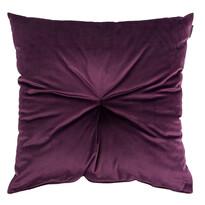 Pernă Domarex Lari Velvet, violet, 45 x 45 cm