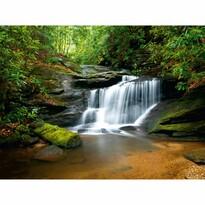 Fototapeta XXL Řeka s vodopádem 360 x 270 cm, 4 díly