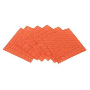 Prostírání Culinaria Orange, 6 ks 10 x 10 cm