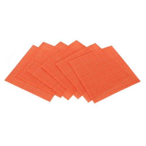Banquet Prostírání Culinaria Orange, 6 ks 10 x 10 cm
