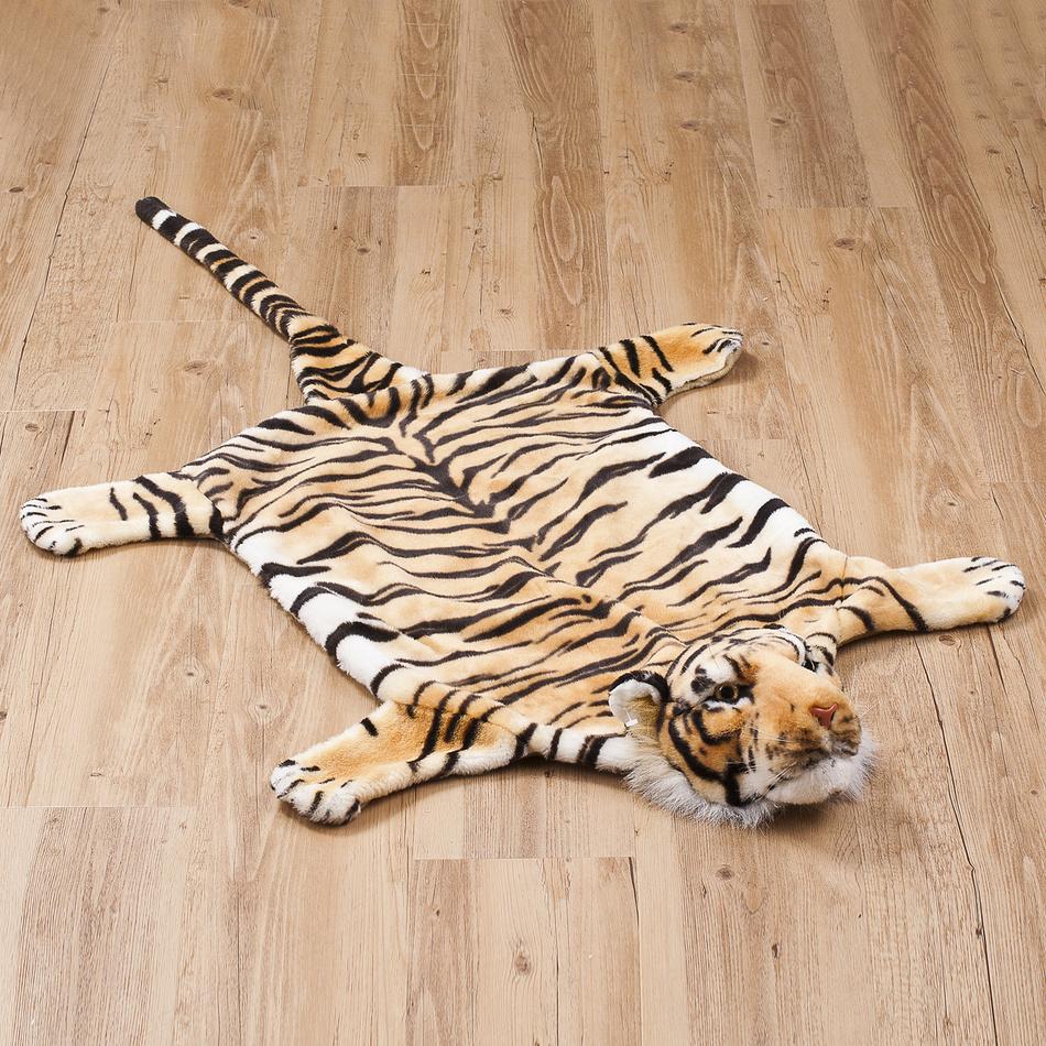 Vopi detský koberec Tiger hnedý, 50 x 85 cm