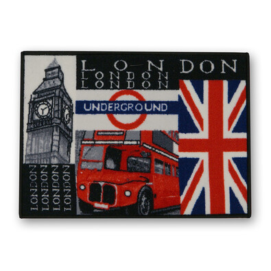 Venkovní rohožka London Underground, 50 x 70 cm