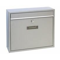 Cutie poştală din oţel Tarent, argintiu