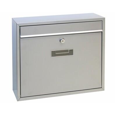 Cutie poştală din oţel BK.31.S, argintiu
