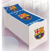 Dětské bavlněné povlečení do postýlky FC Barcelona, 100 x 130 cm, 40 x 60 cm