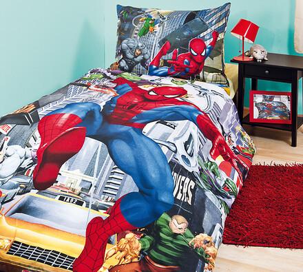 Dětské bavlněné povlečení Spiderman 2, 140x200, 70