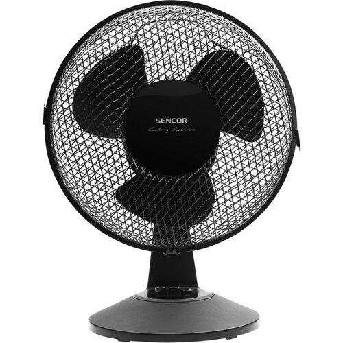 Sencor SFE 2311BK asztali ventilátor, fekete