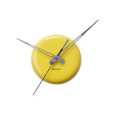 Karlsson 5452YE nástěnné hodiny