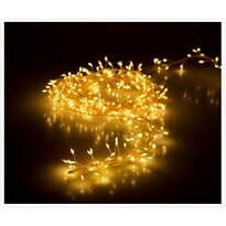 Světelný vánoční řetěz Martiel teplá bílá, 100 LED