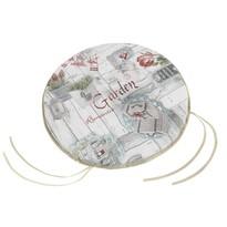 Bellatex Sedák kulatý hladký Ema Terasa, 40 cm