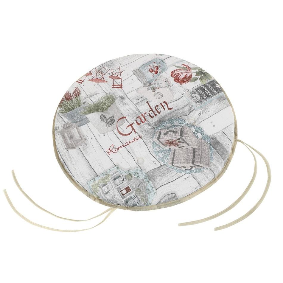 Bellatex Sedák EMA kulatý hladký Terasa, 40 cm