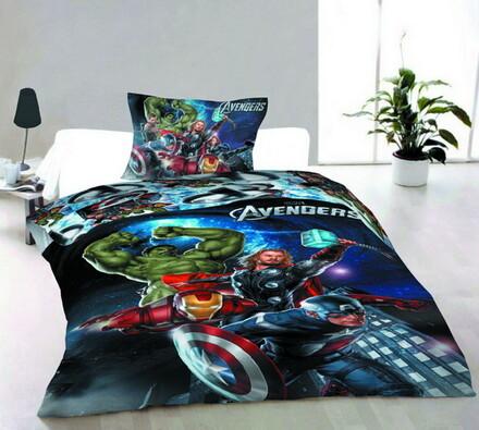 Dětské povlečení Avengers, Jerry Fabrics, 140x200