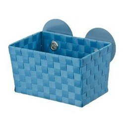 Wenko košík s prísavkami svetle modrá,