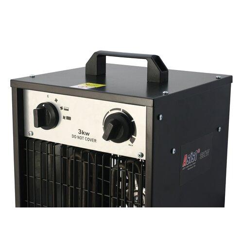 Asist AE7HE30-ZH elektrický priamotop, 3 kW