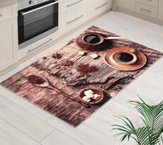 Kusový koberec Káva 3D, 80 x 120 cm
