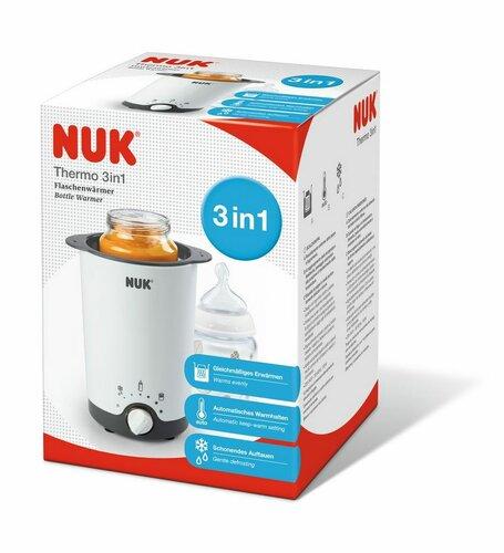 NUK Elektrický ohřívač na kojenecké láhve THERMO 3v1
