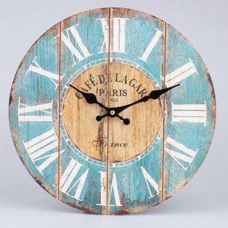 Nástenné hodiny Wood, pr. 34 cm