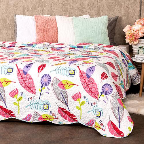 4Home Narzuta na łóżko Karine, 140 x 220 cm