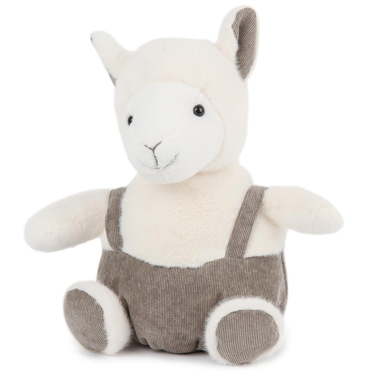 BO-MA Trading Plyšová ovečka s kšandami, 22 cm