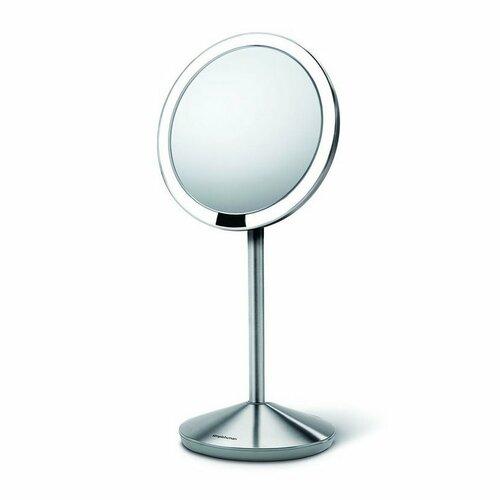 Simplehuman Senzorické kozmetické zrkadielko cestovné s Tru-lux LED osvetlením 10x zväčšenie