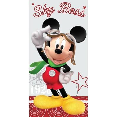 Osuška Mickey pilot, 75 x 150 cm