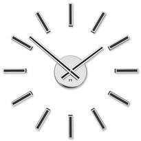 Future Time FT9400BK Modular black Designerski zegar naklejany, śr. 40 cm