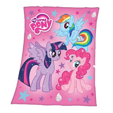 Dětská deka My Little Pony, 130 x 160 cm