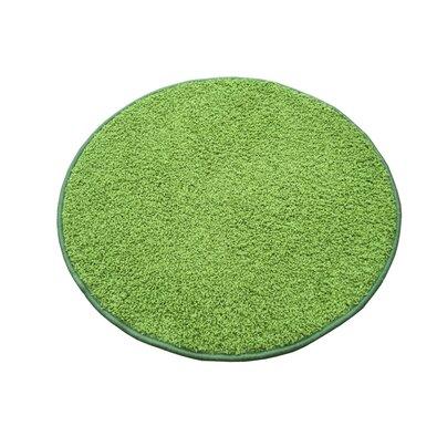 Kusový koberec Color shaggy zelená, 100 cm