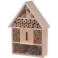 Domček pre hmyz hnedá, 22 x 30 cm