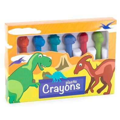 Sada voskovek Dinosaurs, 6 ks