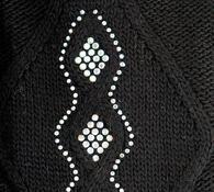 Dámská čepice Karpet 5160, černá