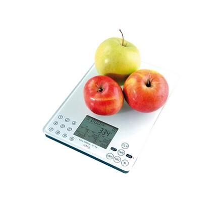 Kuchyňská váha digitální, Gallet BAC 103, bílá