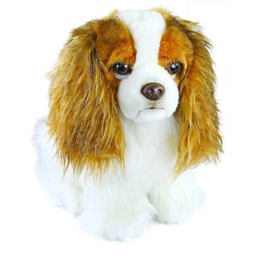 Câine King Charles spaniol Rappa, din pluș, 25 cm