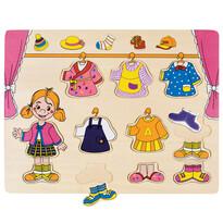 Puzzle Bino Garderobă