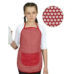 Dětská zátěra Kvítek na červené, 42 x 45 cm