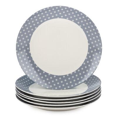 Altom Lena Porcelán desszert tányér készlet 20 cm, 6 db