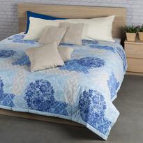 Ottorino ágytakaró, kék