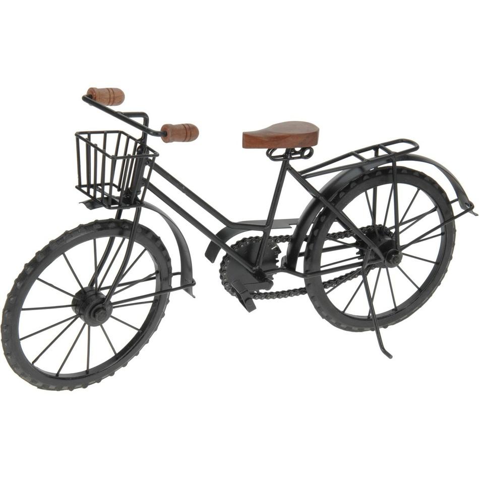Koopman Kovová dekorace Bicykl, 40 cm