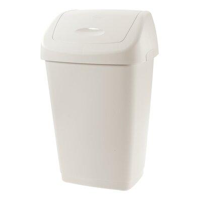 Tontarelli Odpadkový koš Aurora, 25 l, krémová