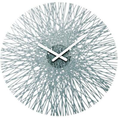 Nástenné hodiny Silk antracit, Koziol