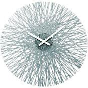 Nástěnné hodiny Silk antracit