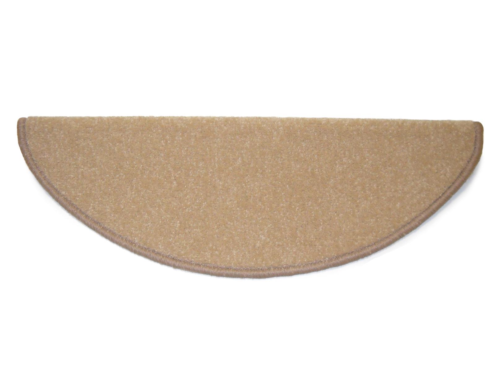 Vopi Kobercové nášlapy na schody Eton 24 x 65 cm - béžová