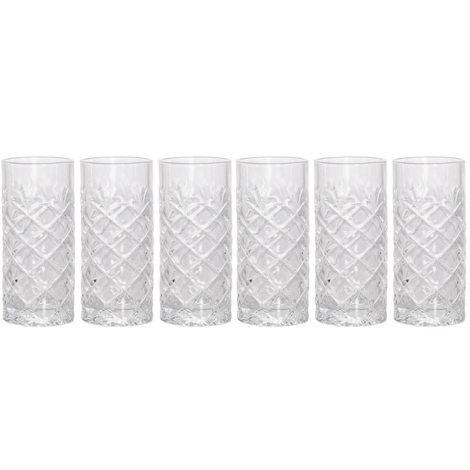 6dílná sada sklenic 6,5 x 14,2 cm